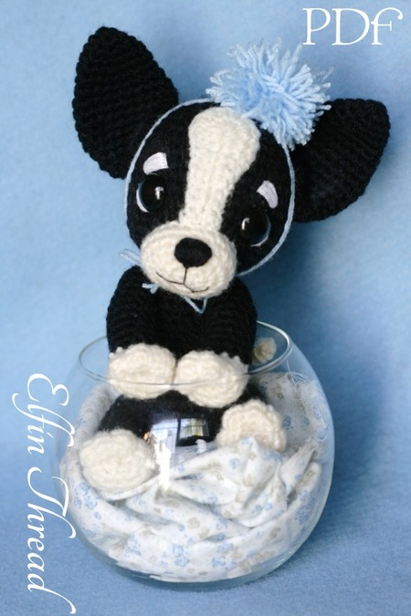 Chaco The Chihuahua Puppy Amigurumi Pdf Pattern Elfin Thread