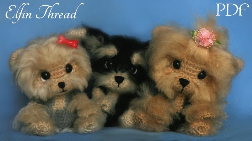 Crochet Parfait: Amigurumi Yorkie Tutorial | 450x803