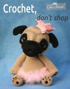 Crochet, don't shop