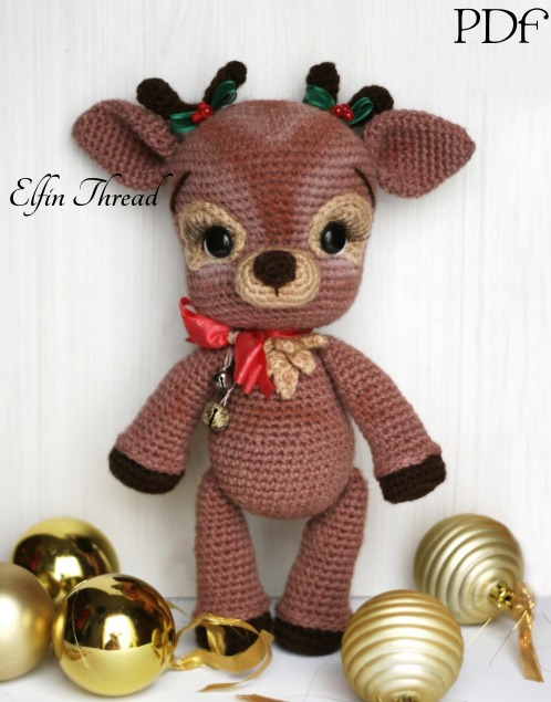 Reindeer and Moose Lovey and Amigurumi Crochet Patterns Pack | 635x498