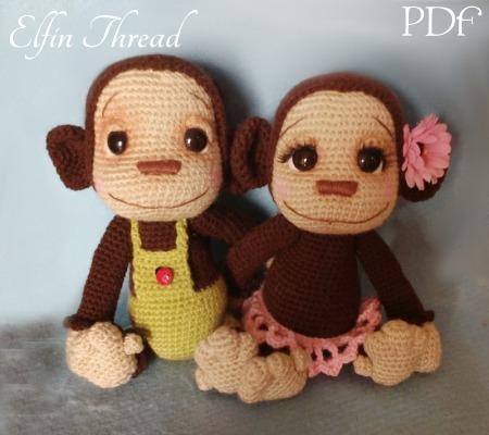 Baby Bean Doll (Free Amigurumi Crochet Pattern, Human Body Doll ... | 400x450