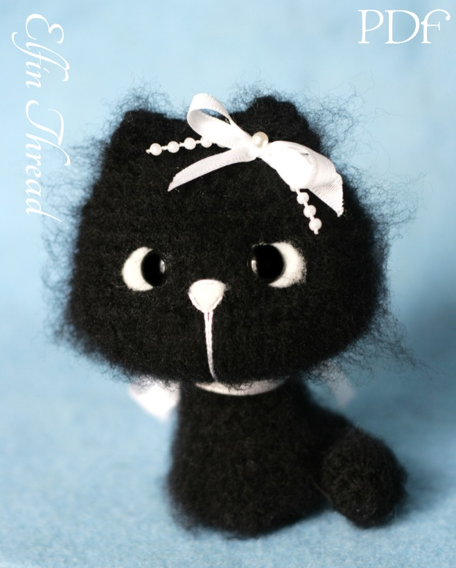 PATTERN BUNDLE: Crochet Kitty Cat Patterns! Amigurumi Kitty ... | 819x658
