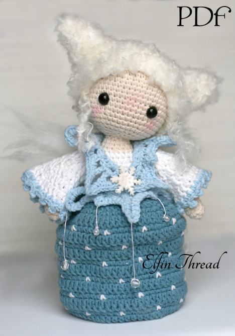 Mini Fairy Doll Crochet Kit | TOFT | 668x468